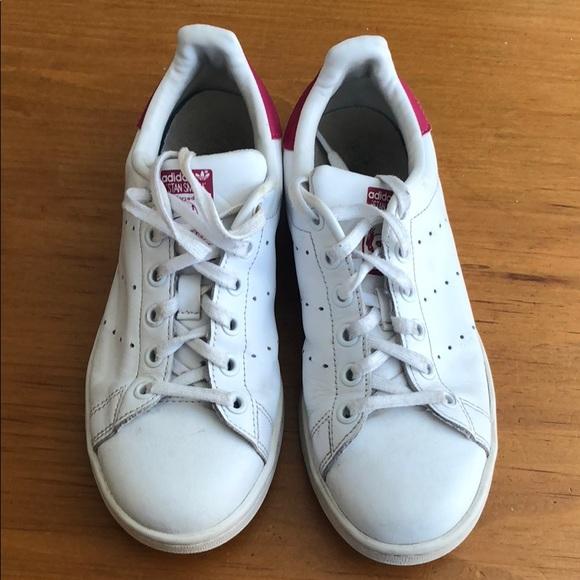 new style 170f8 9e083 Adidas Stan Smith pink sz US4.5 fits women 6.5